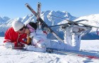 Медовый месяц на горнолыжном курорте