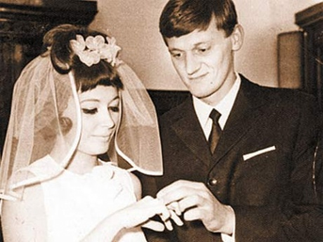 Алла Пугачева с Миколасом Орбакасом - свадьба