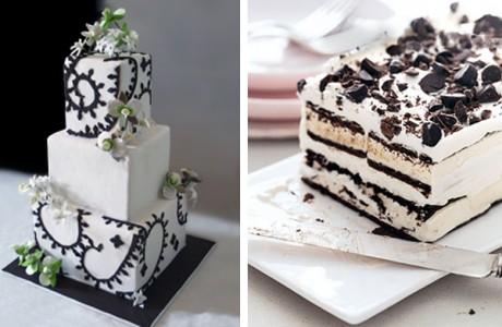 Торт-мороженое на свадьбе