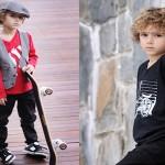 Ребенка 6-7 лет можно нарядить и как настоящего модного парня, по последней моде
