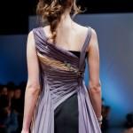 Роскошный вид платья сзади