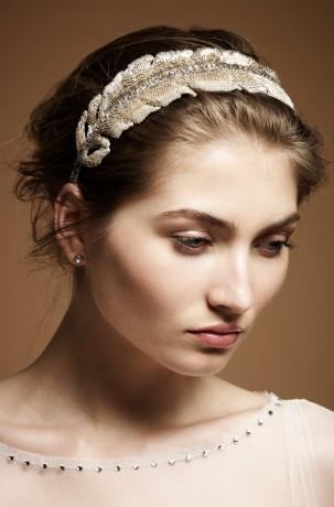 Свадебная диадема невесты Feather  H/D