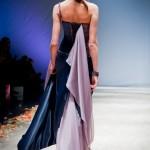 Шикарное платье - вид сзади