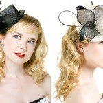 Маленькая шляпка делает невесту игривой и милой девушкой