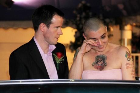 Звездная свадьба Шинейд О`Коннор