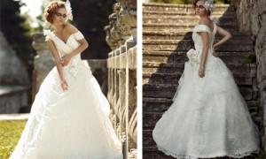 Свадебное платье Изольда от Tulipia, коллекции 2012 года