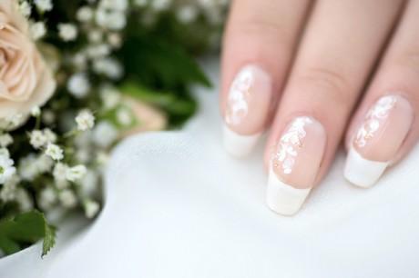 Свадебный нейл-арт - роспись