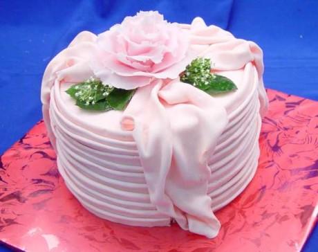 Цветы на торт