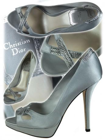 Свадебные туфли Сhristian Dior