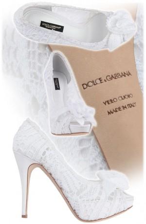 Свадебные сандалии Dolce & Gabbana