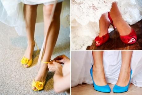 Похищение туфельки невесты на свадьбе