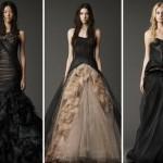 Пышная юбка, узкий корсет и черная легкая многослойность - не так уж и плохо как для свадебного платья!