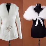 В зависимости от фасона платя и температуры за окном у невесты есть несколько вариантов верхней одежды на свадьбу