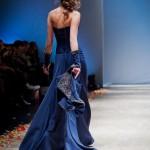 Вид платья сзади