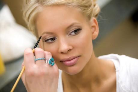 Особенности макияжа для зимней свадьбы