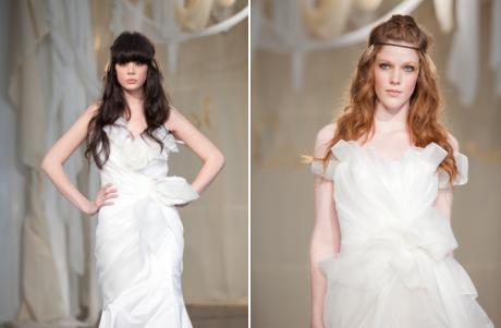 Свадебная прическа в гармонии с платьем