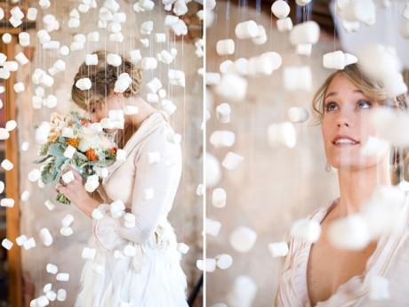 Зимняя свадьба - цветы