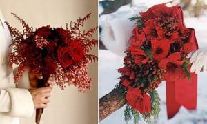 Цветы для зимней свадьбы