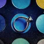 Свадьба в голубых тонах - выбери оригинальное обручальное кольцо