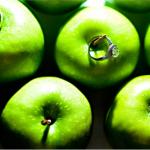 Обручальные кольца для яблочной свадьбы