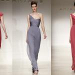 Серый и нежный коралловый - идеальное цветовое решение для наряда