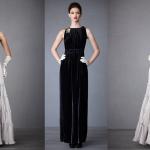 Черное платье - идеальный вариант для выхода в свет