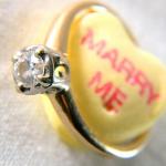 Подушечка в форме сердечка с надписью