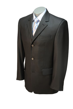 Черный костюм-двойка Companero