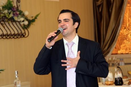 Тост на грузинской свадьбе