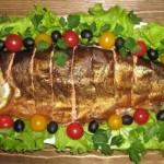 Блюда из рыбы на свадьбу