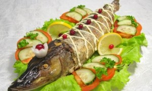 Как украсить рыбные блюда на свадьбу