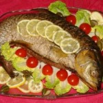 Рыбные свадебные блюда: как украсить