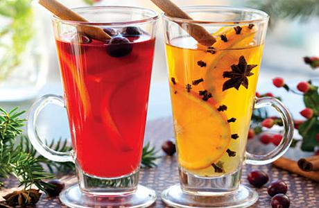 Горячие напитки для зимней свадьбы