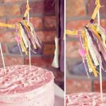 Ты можешь украсить свадебный торт лентами
