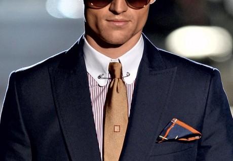 Зажим на галстуке на свадьбу