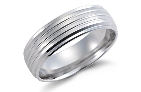 Обручальное кольцо жениха