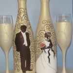 Золотой и белый цвета - благородный дуэт для свадьбы
