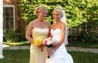 Наряд подружки невесты