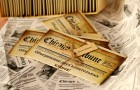 Приглашение на свадьбу в виде газеты