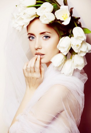 Украшения для невесты из цветов