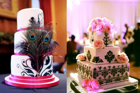 Свадебный торты в 2012 году