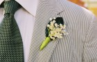 Свадебные бутоньерки: фото 5