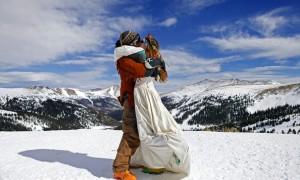 Австрия приглашает новобрачных на лыжи