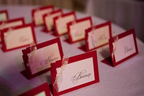 Карточки для гостей на свадьбу