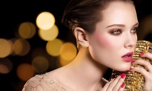 Зимний свадебный макияж