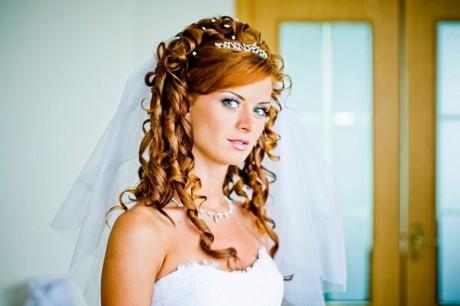 свадебный макияж для романтичной невесты