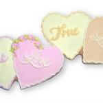 И сладкие печеньки-сердца