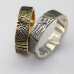 Такое обручальное кольцо подменить невозможно