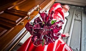 Свадебное платье - необычное цветовое решение
