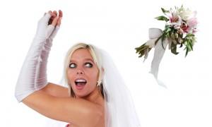 Как бросать букет невесты